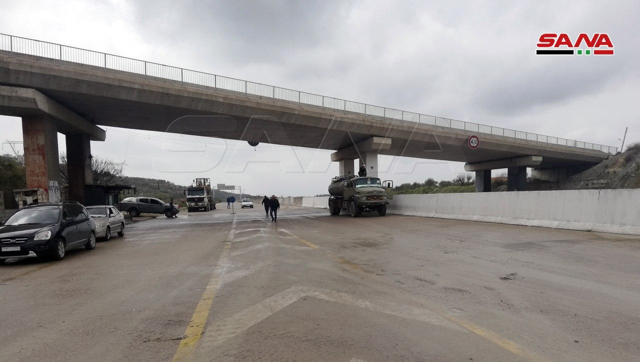 Syrian Authorities Renovate M4 Highway Ahead Of Joint Russian-Turkish Patrols (Photos)
