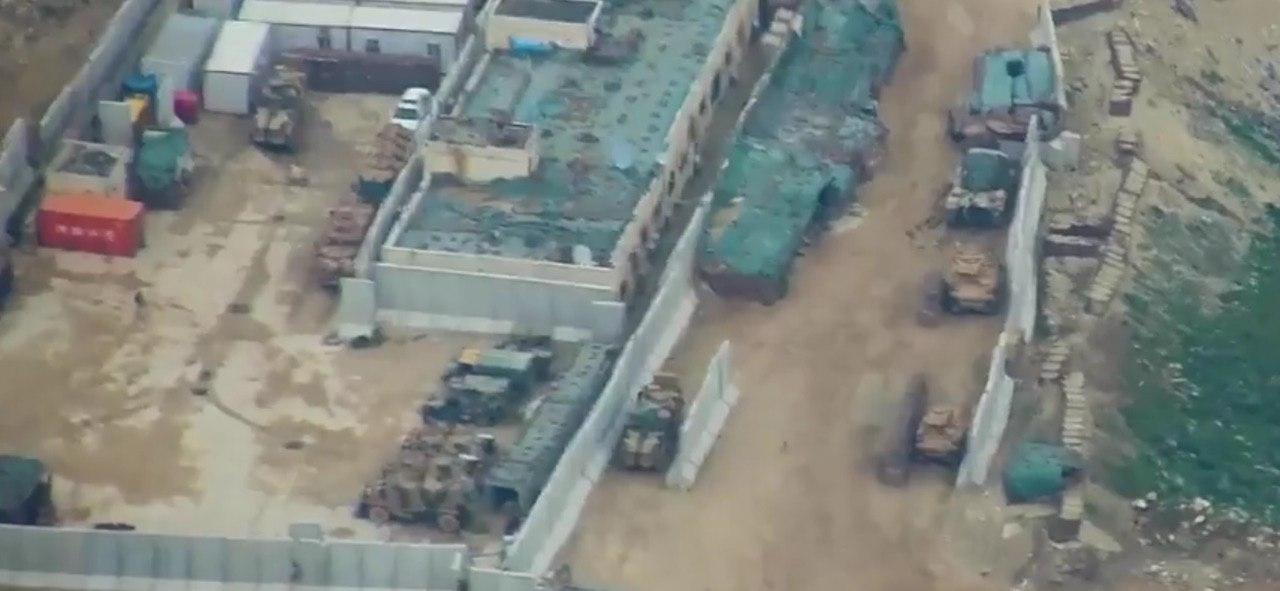 In Photos: Heavily Armed Turkish 'Observation' Post In Northwest Hama Is Surrounded By Syrian Army
