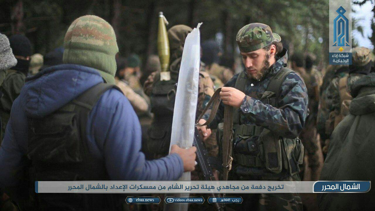 In Photos: HTS Uses Ceasefire To Recruit and Train New Fighters