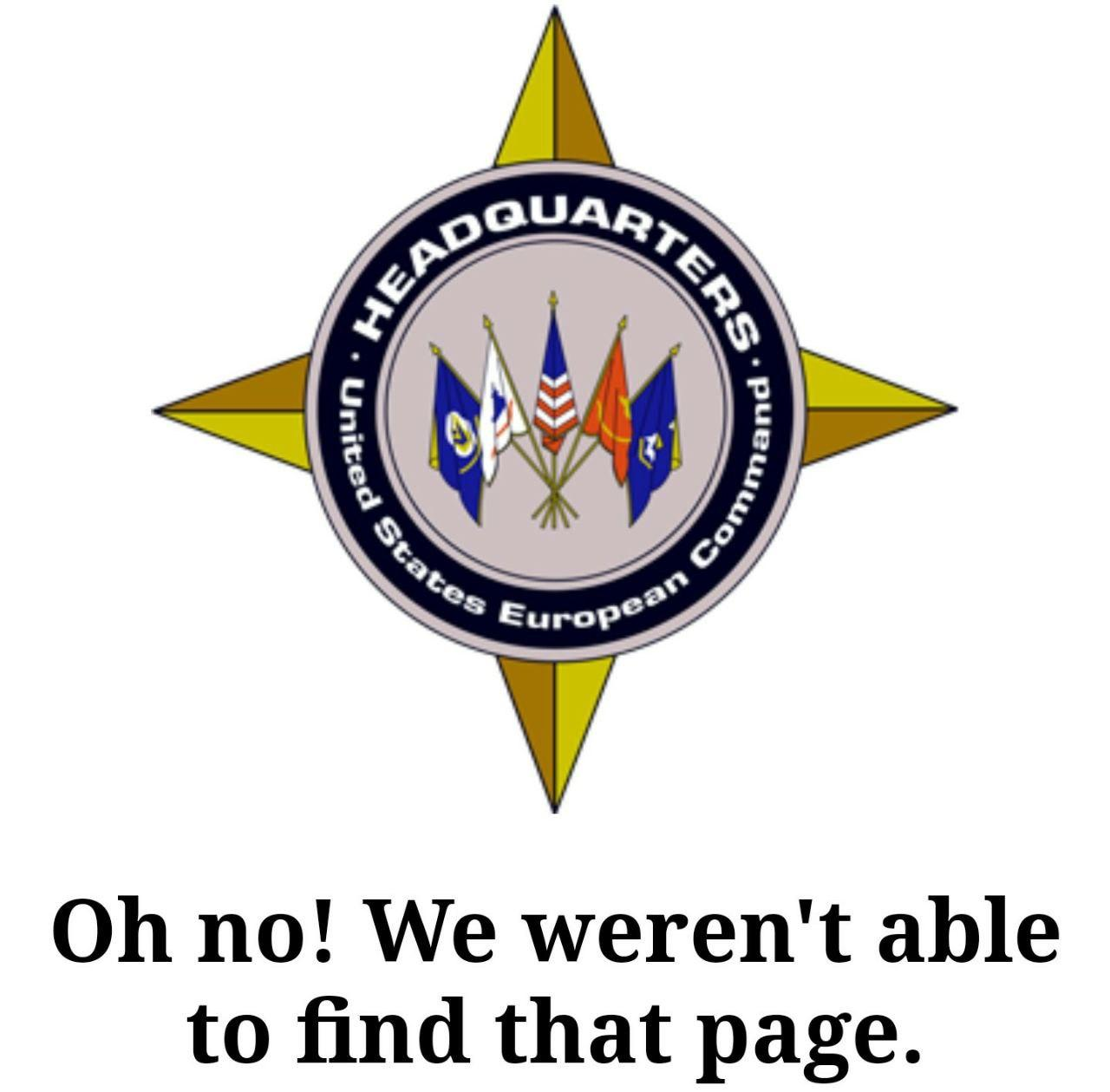 U.S. EUCOM COVID-19 Update Page Mysteriously Vanished From Website