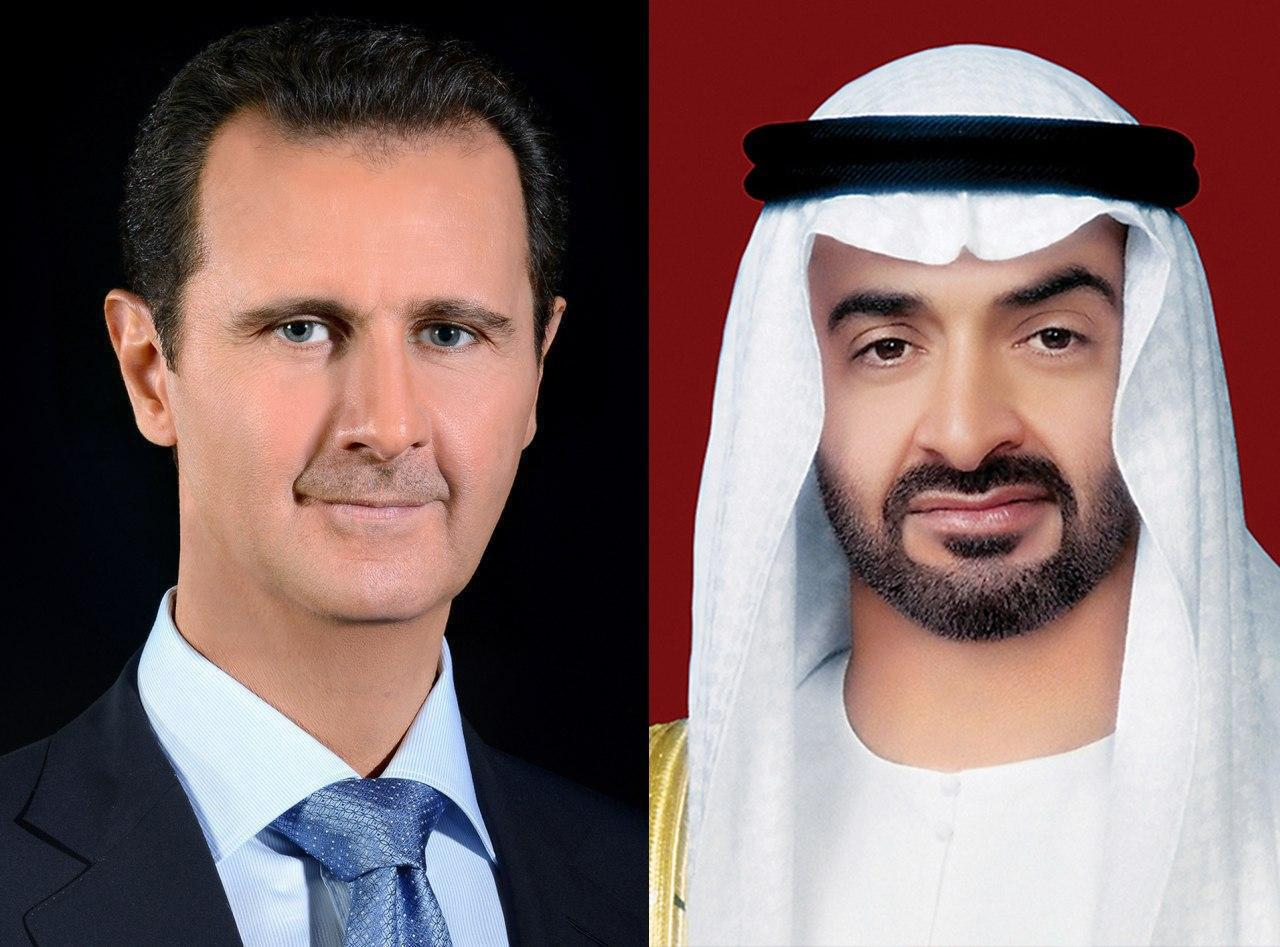 UAE Crown Prince Discusses COVID-19 Pandemic With Syria's Assad