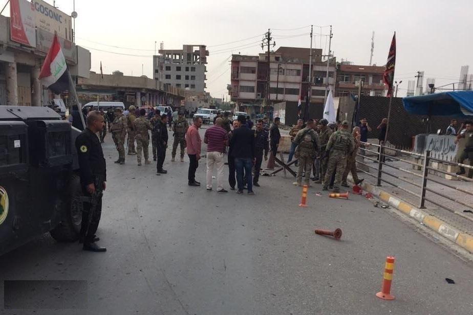 ISIS Suicide Bomber Attacked Iraqi Intelligence Bureau Wounding 3