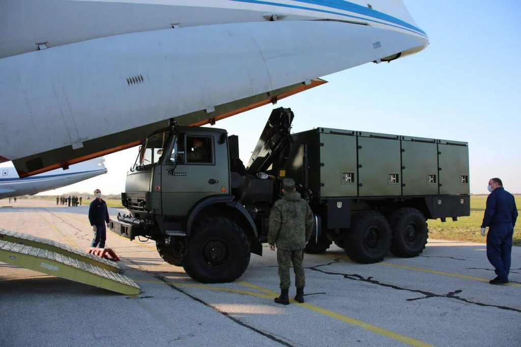 Why the American Punditry Is Terrified of Russian Humanitarian Aid