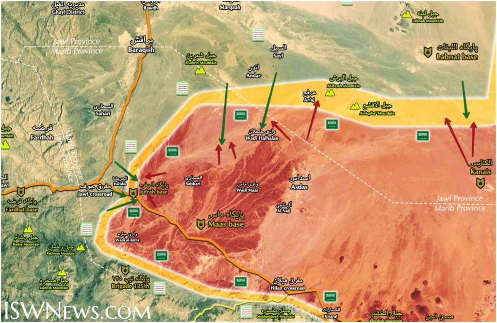 Ansar Allah Is Storming Positions Of Saudi-Backed Forces In Countryside Of Maas Base (Map Update)