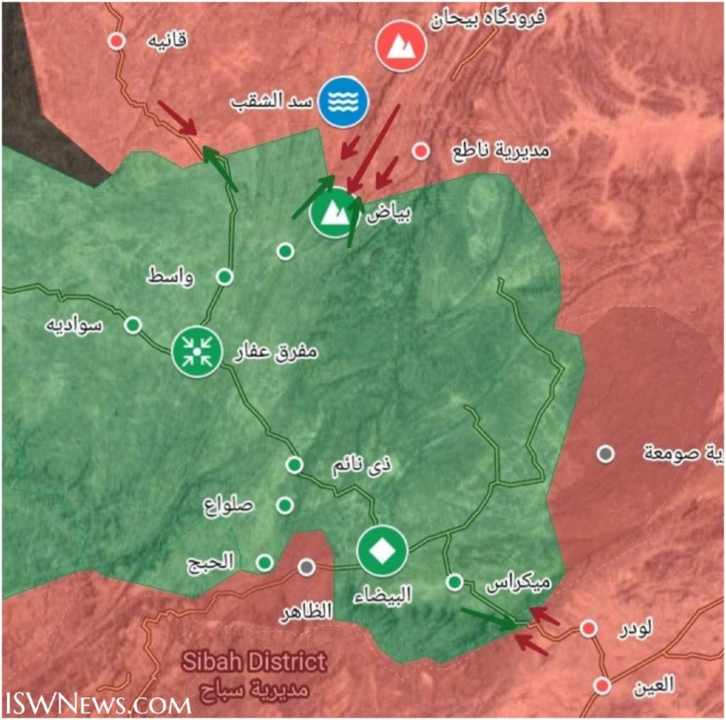 Saudi-led Forces Are Advancing On Positions Of Ansar Allah In Yemen's Bayda Province