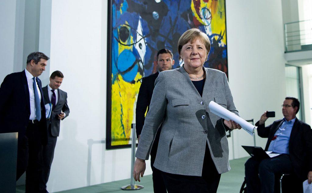 In Dramatic Move, Merkel Announces Decision To Start Removing Coronavirus Shutdown Measures