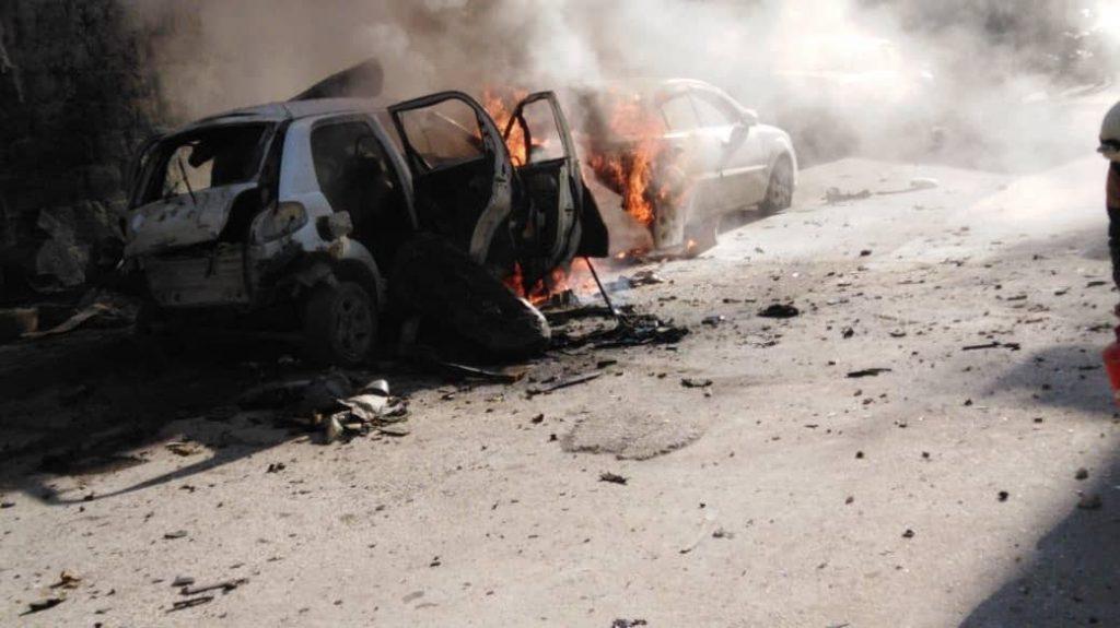 IED Explosion Rocks Kafr Takharim Village In Northwestern Idlib Killing At Least One Militant (Photos)