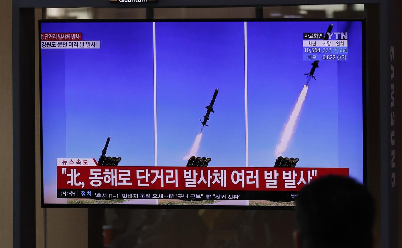 "North Korea Fires Barrage Of Suspected Cruise Missiles In ""Major Show Of Force"""