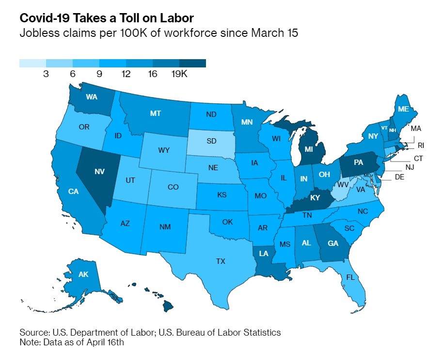 22m Out Of Work In US As Country Nearing Great Depression 2.0