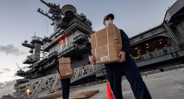 """The Saker: """"Will This Pandemic Finally Mark The End Of The US Carrier Fleet?"""""""