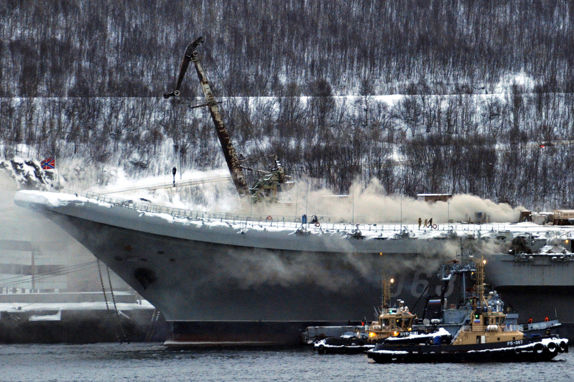 Costs Mount And Delays Expand For Repair Of Russian Carrier Admiral Kuznetsov