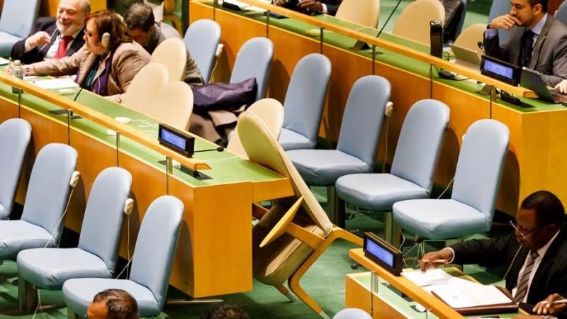 UN COVID-19 Declaration Blocked Because U.S. Adversaries Need To Remain Sanctioned