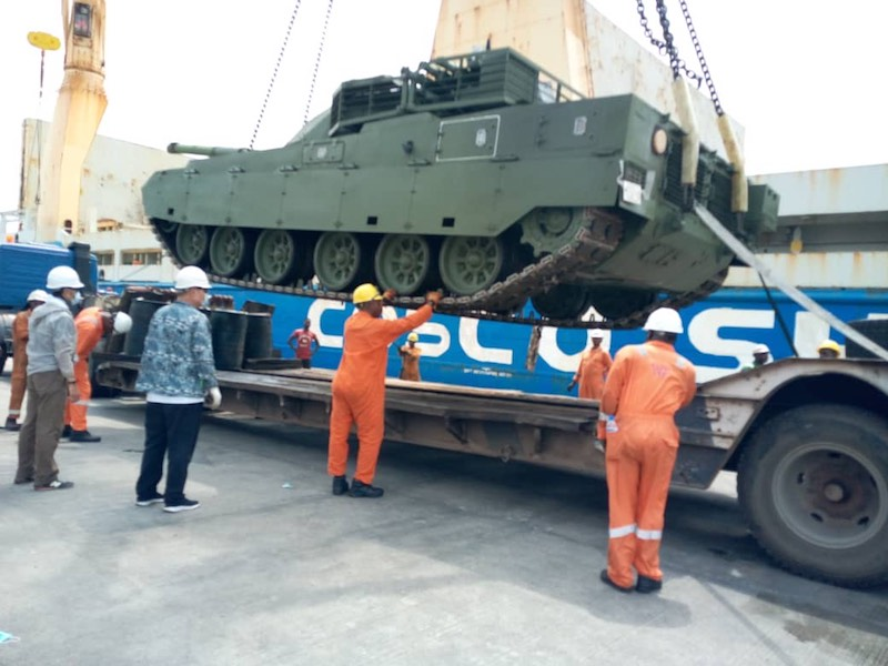 Nigeria Buys Chinese Battle Tanks To Fight Boko Haram (Photos)