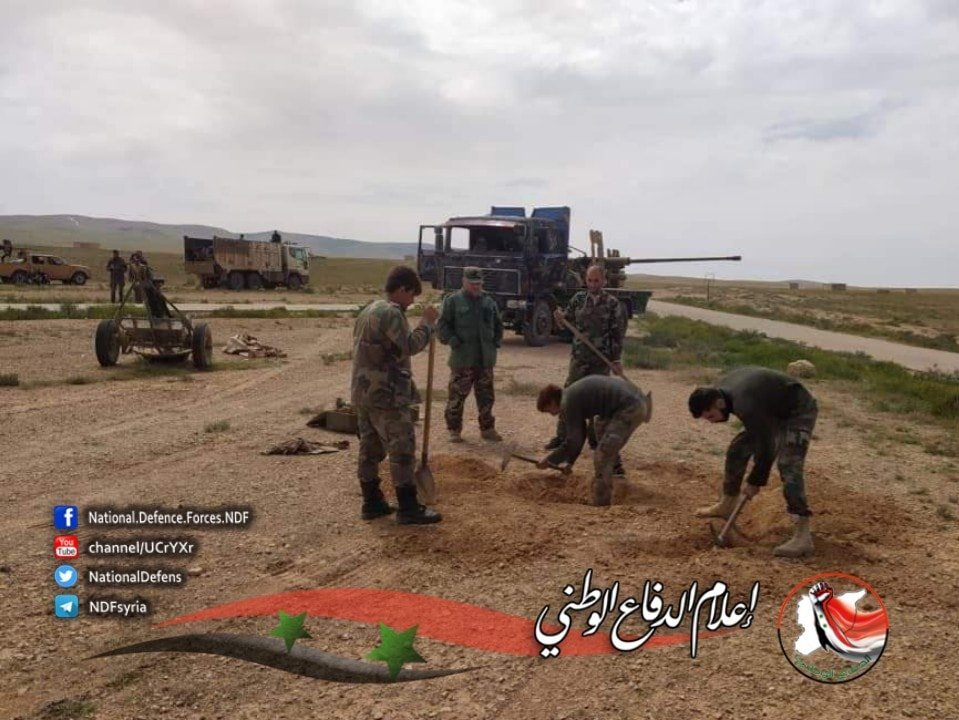 In Photos: Syrian Army Conducts Security Operation Against ISIS Cells In Homs Desert