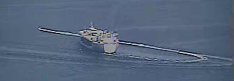 "11 IRGCN Boats ""Harassed"" 6 U.S. Warships In Persian Gulf"