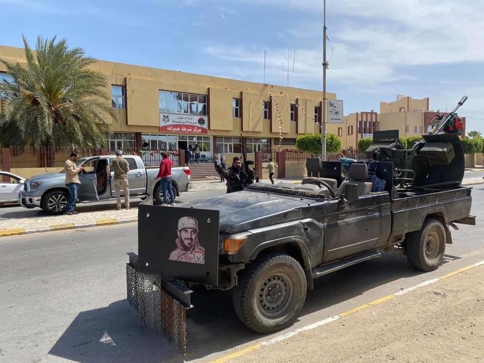 """Extremist Images Brandished Immediately After Towns """"Liberated"""" Away From Haftar's Forces"""