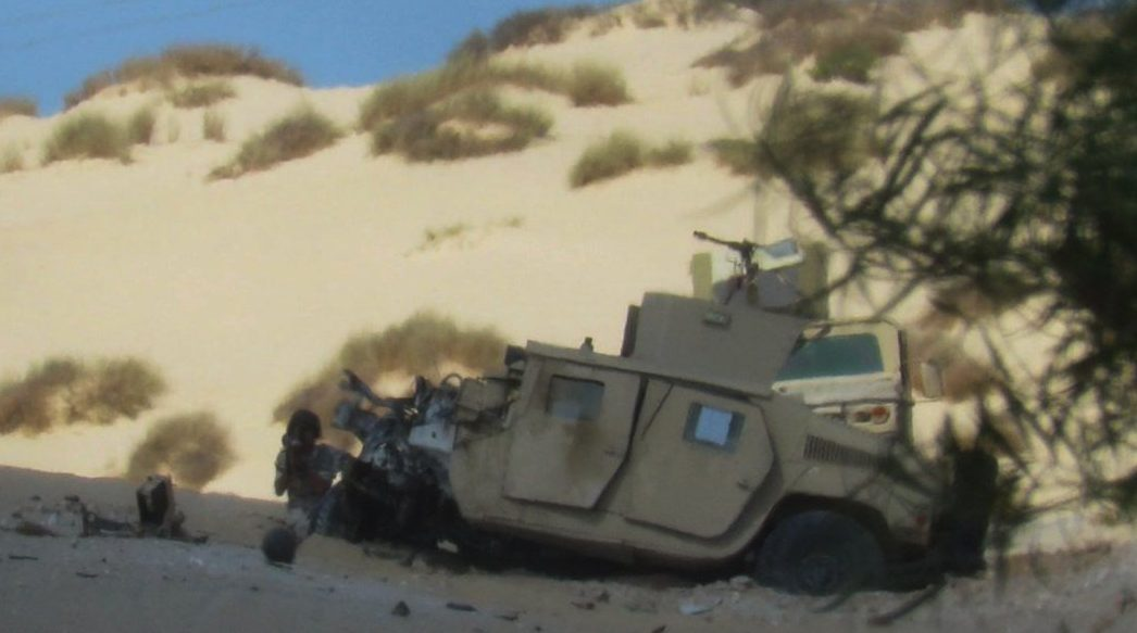 ISIS Cells Target Three Armored Vehicles In Egypt's Sinai
