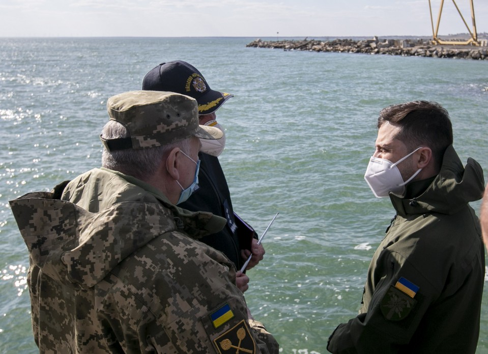Ukraine To Build Naval Base In Sea Of Azov For 'Protection'