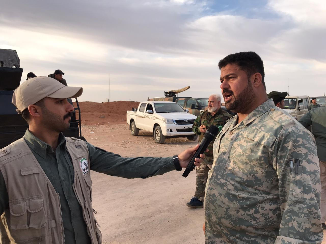 Iraqi Forces Conclude 'Operation Victory Heroes 2' In Al-Anbar Desert  (Photos)