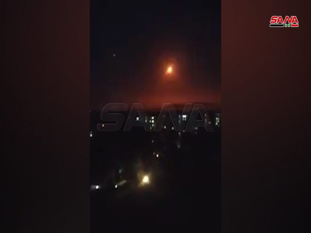 Israel Strikes 'Iranian Targets' In Damascus Countryside. 3 Civilians Killed (Videos, Photos)