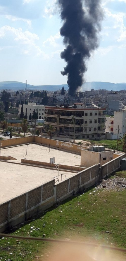 Large Explosion Rocks Afrin City Killing At Least 39 People (Photos, Video)