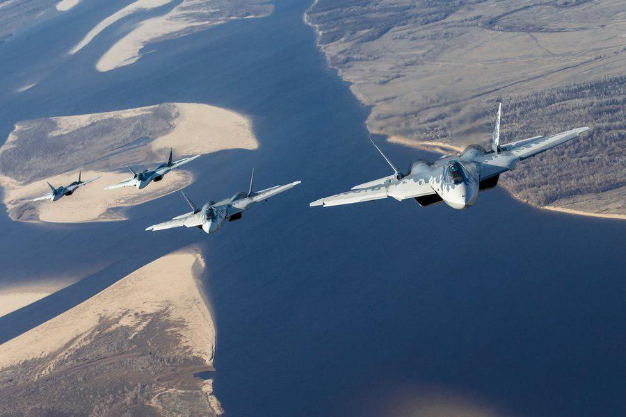 In Photos: Test Flights Of Su-57 Fifth-Generation Fighter Jets