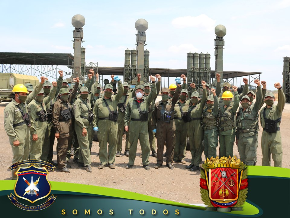 In Photos: Venezuela Tests Combat Readiness Of Its S-300SV Air Defense Systems