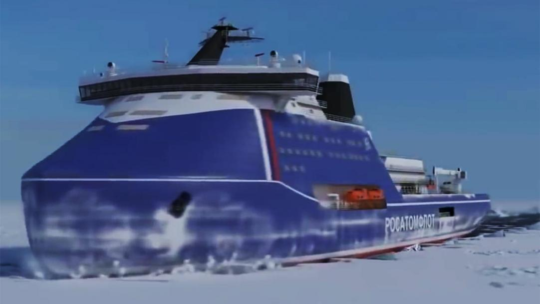 """Contract For Constrution Of Project 10510 """"Leader"""" Nuclear Icebreaker Signed By Rosatomflot"""