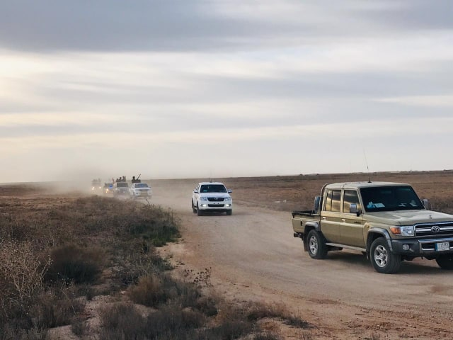 Iraqi Military, PMU Launch Large-Scale Security Operation In Al-Anbar's Desert (Photos)