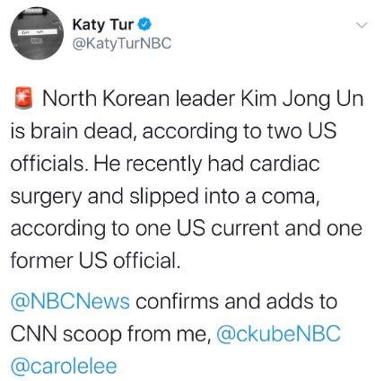 Conflicting Reports Of Kim Jong Un's Health, Prompts Market Crash