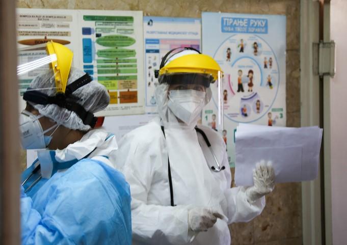 Russian Military Doctors Began Receiving Patients With Suspected Coronavirus Infection In Belgrade