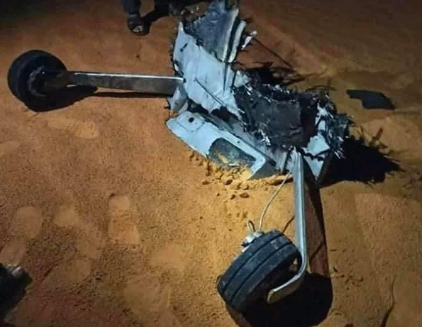 Turkish Combat Drones Continue Falling In Libya (Photos)