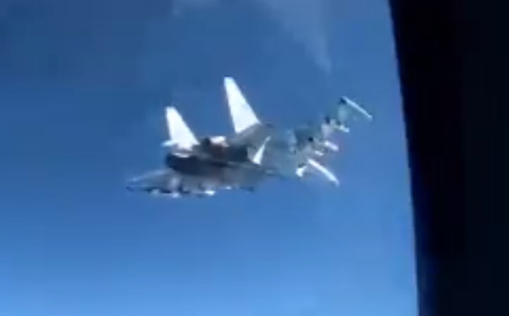Russian Fighter Jet Intercepts US Navy Spy Plane Off Syrian Coast (2nd Time In Less Than A Week)