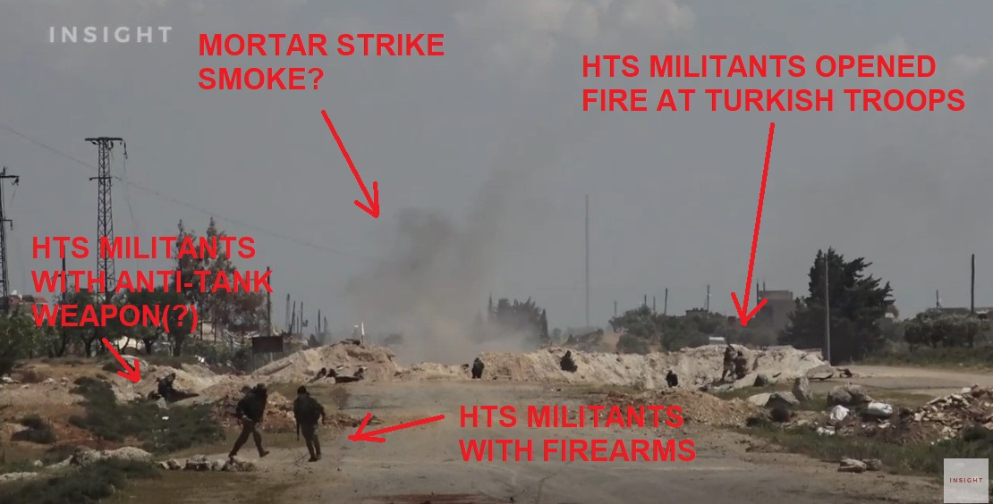 In Video: Hayat Tahrir al-Sham Members Clash With Turkish Army In Southern Idlib