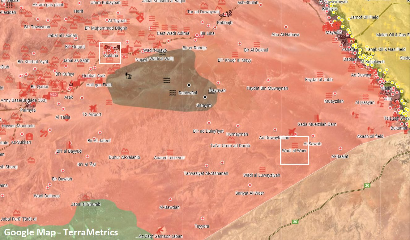 Syrian Army Conducts Large-Scale Coming Operation In Eastern Homs (Photos)