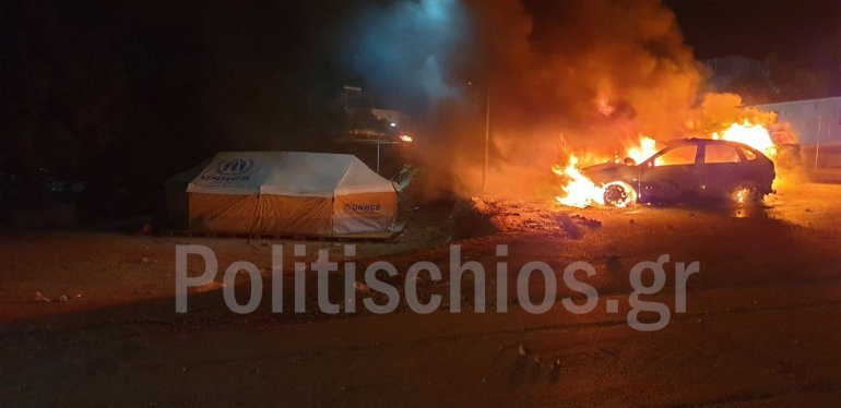 Migrant Riots On Greece's Chios Island After Iraqi Woman's Death