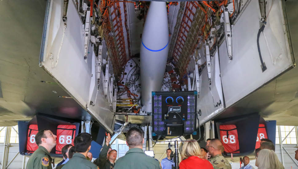U.S. To Equip B-1B Bombers With Hypersonic AGM-183 ARRW