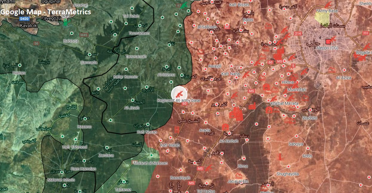 Turkish Military Shells Large Syrian Army Base In Western Aleppo