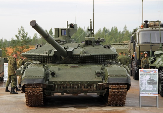 Russia's Armed Forces Receive First Batch Of Modernized T-90M Proryv Main Battle Tank