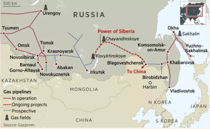 Power Of Siberia May Jeopardize US Energy Sales, As Power Of Siberia-2 Looms Around The Corner