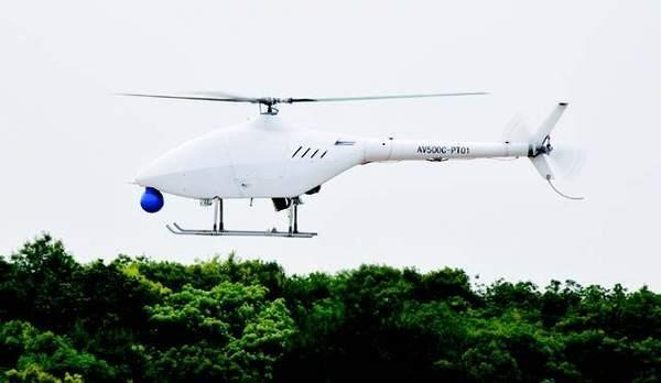 China Successfully Completes Maiden Test Flight Of New Helicopter Drone