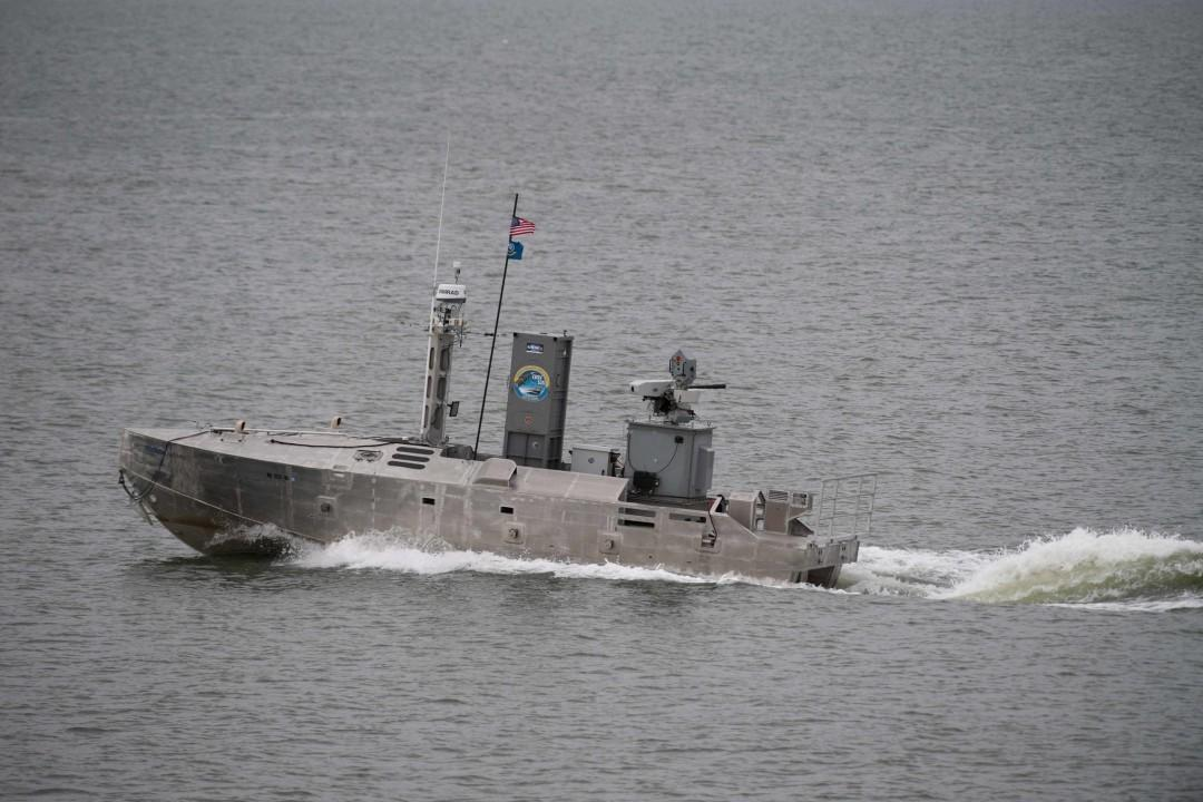 Pentagon Has An Obsession With This Robot Minesweeping Stealth Boat