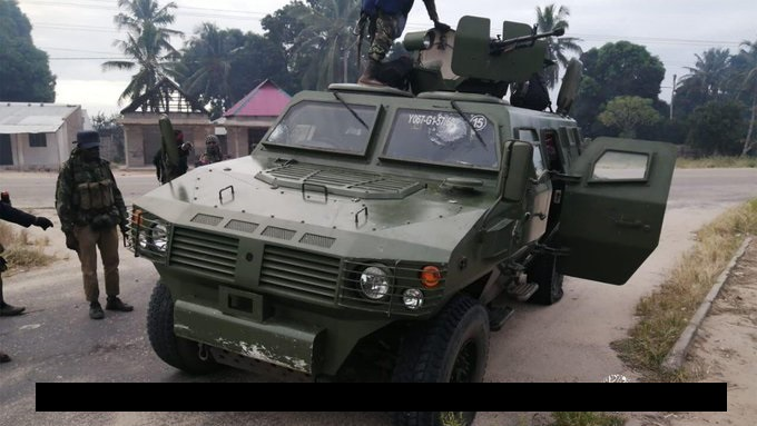 ISIS Killed Two Troops, Seized Their Vehicle In Mozambique (Photo)