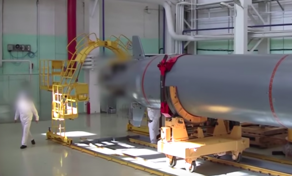 """Russia Readies Test Of Nuclear-Powered """"Doomsday-Drone"""" Torpedo"""