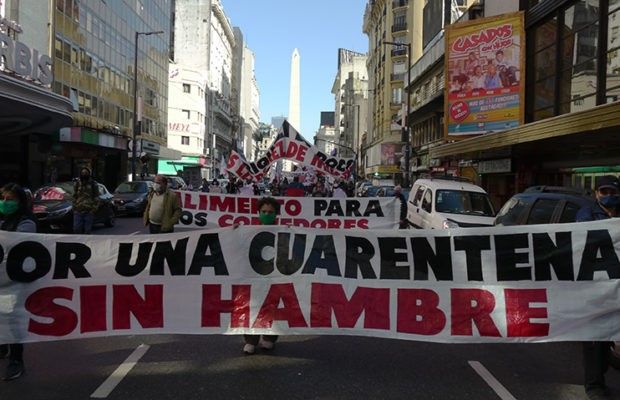 Social Protest Returns To The Streets In Argentina