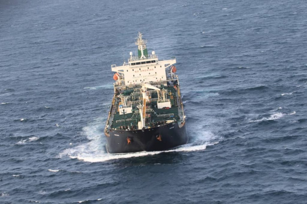 United States Confirmed 'Largest-Ever' Seizure Of Iranian Fuel On 4 Ships Bound For Venezuela