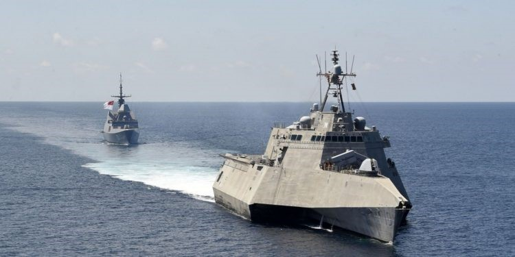 Joint US-Singapore Drills in the South China Sea as Regional Tensions Flare
