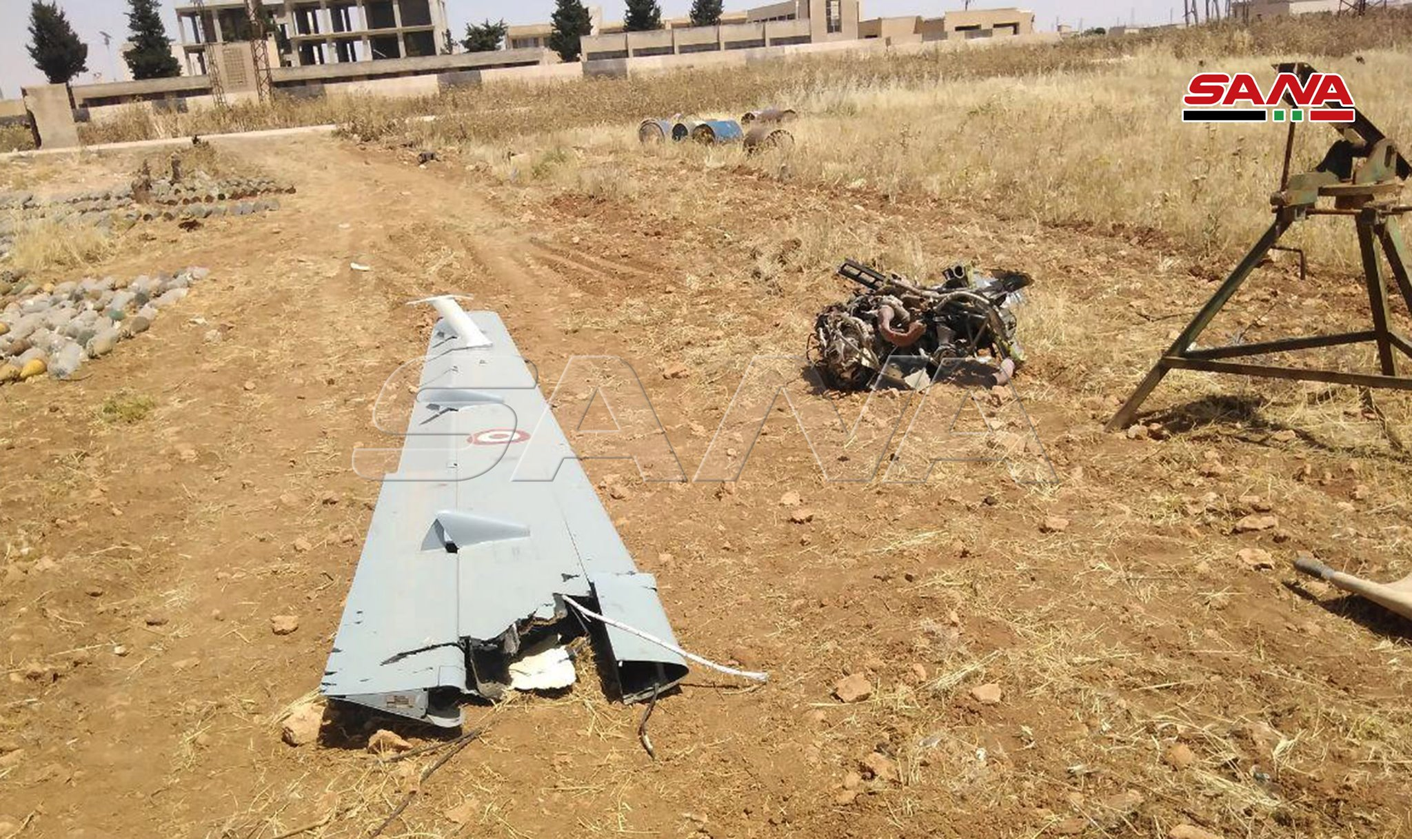 Syrian Army Uncovers Remains Of Turkish Combat Drone In Greater Idlib (Photos)