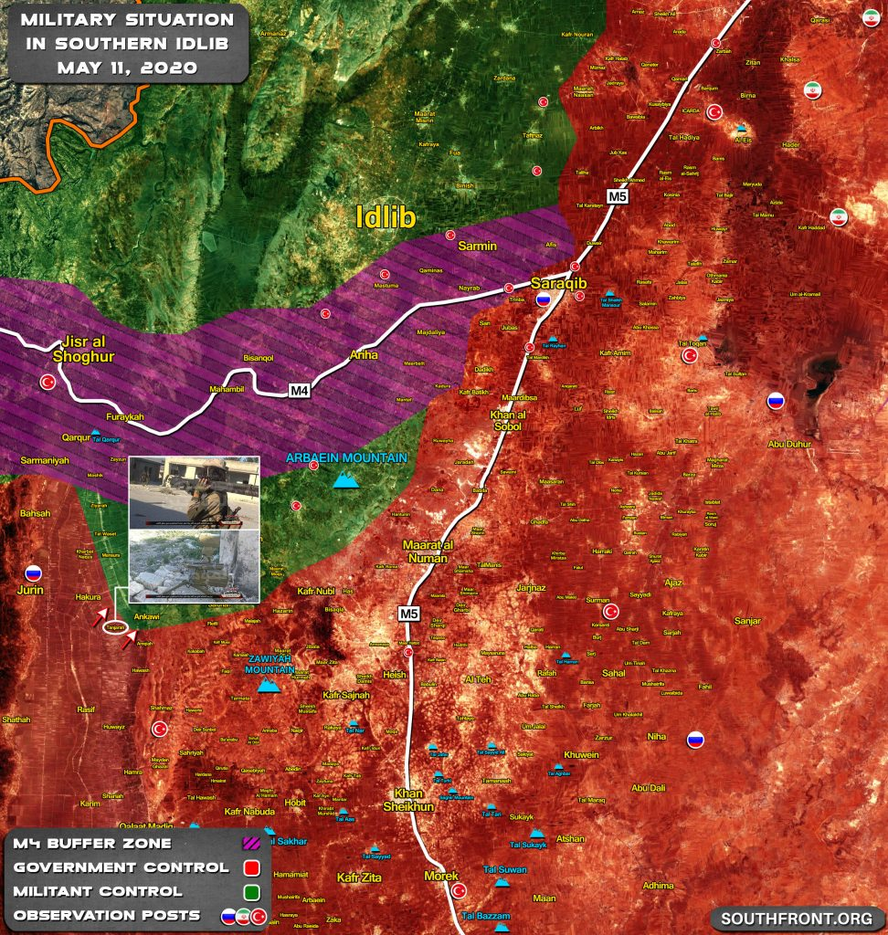 Military Situation In Southern Idlib Following Recent Clashes In Tanjarah (Map Update)
