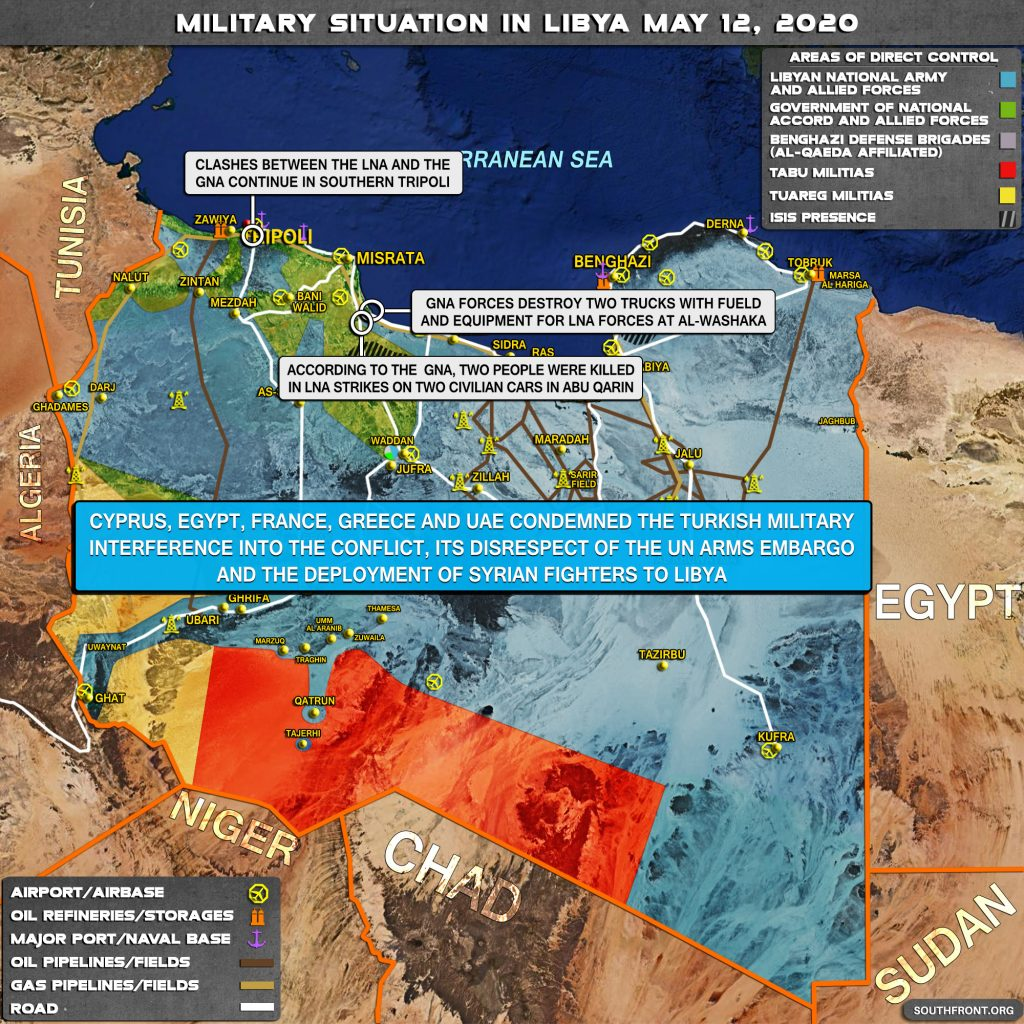 Military Situation In Libya On May 12, 2020 (Map Update)